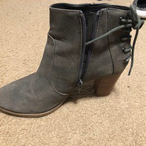 Steve Madden Lace Up Bootie Size 8.5